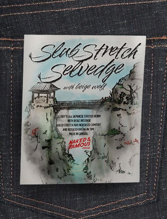 WEIRDGUY - SLUB STRETCH SELVEDGE