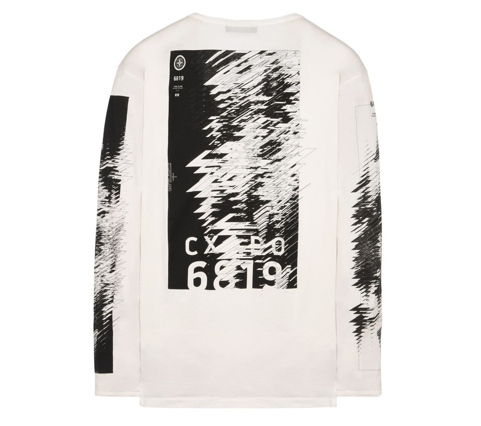 PRINTED LS CATCH POCKET-T