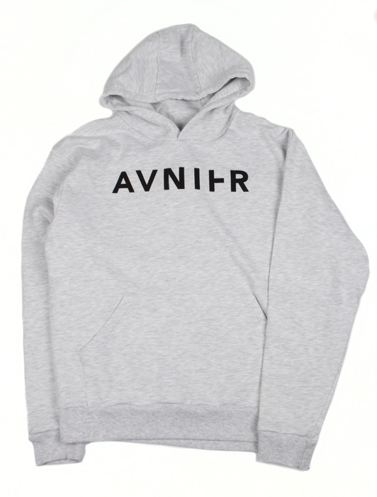 BASIC HEATHER GREY HOODIE