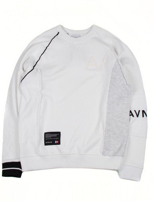 UNSTRUCTURED CREWNECK