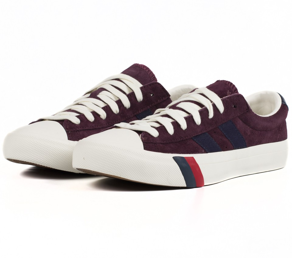 ROYAL PLUS SUEDE WINE