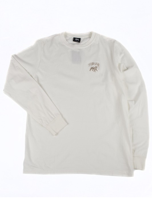 STOCK LION PIG DYED LS TEE