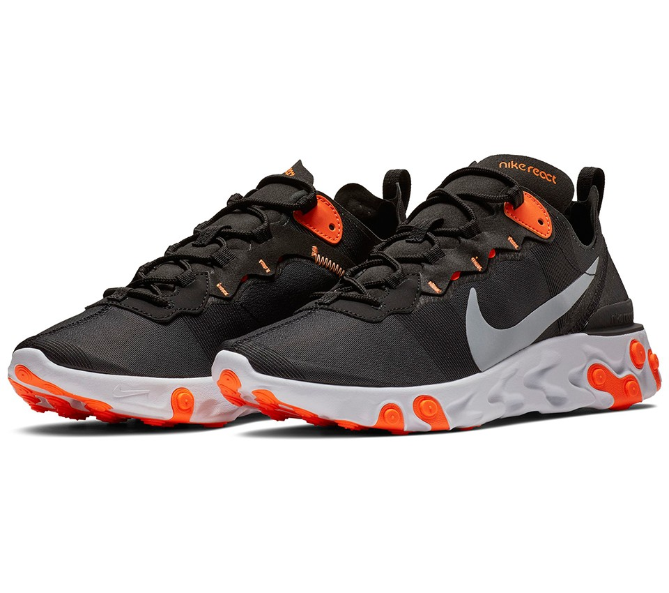 brand new 9a6f6 cad84 NIKE, REACT ELEMENT 55 BQ6166-006