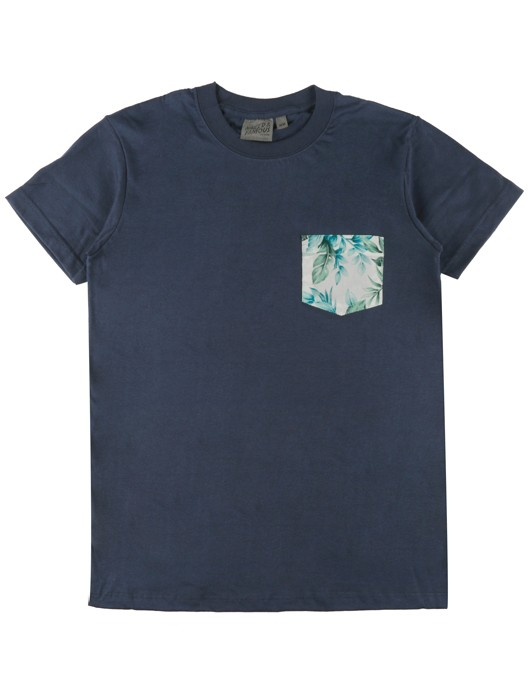 POCKET TEE BIG TROPICAL