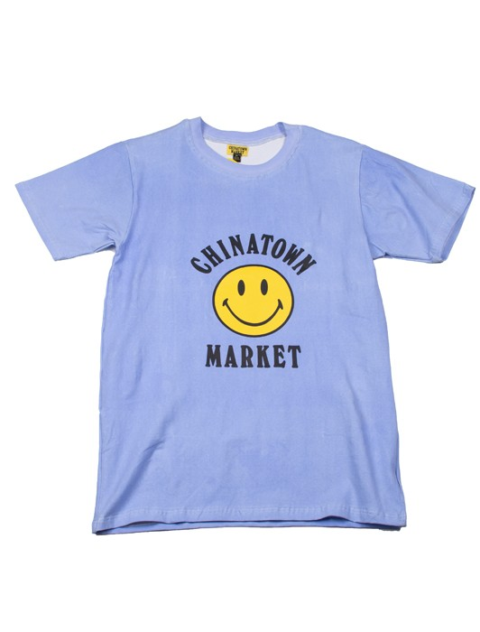 SMILEY LOGO COLOR CHANGE T SHIRT