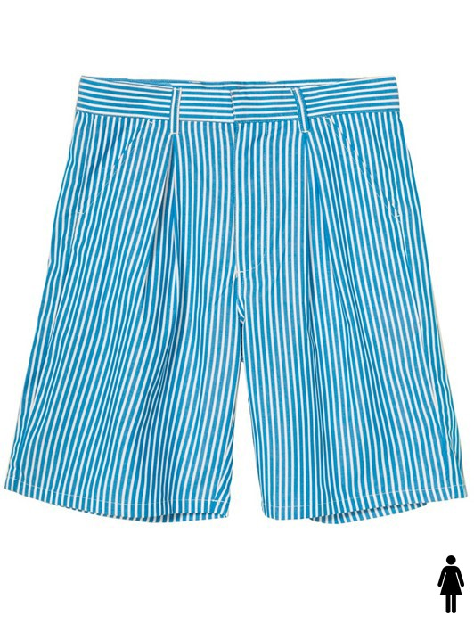 DORIS STRIPE BAGGY SHORT