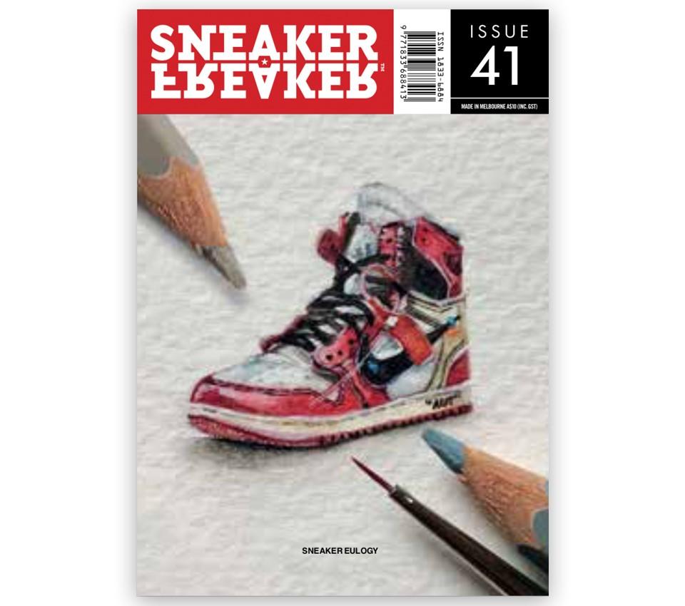 SNEAKER FREAKER MAGAZINE 41 : JORDAN OFF-WHITE COVER