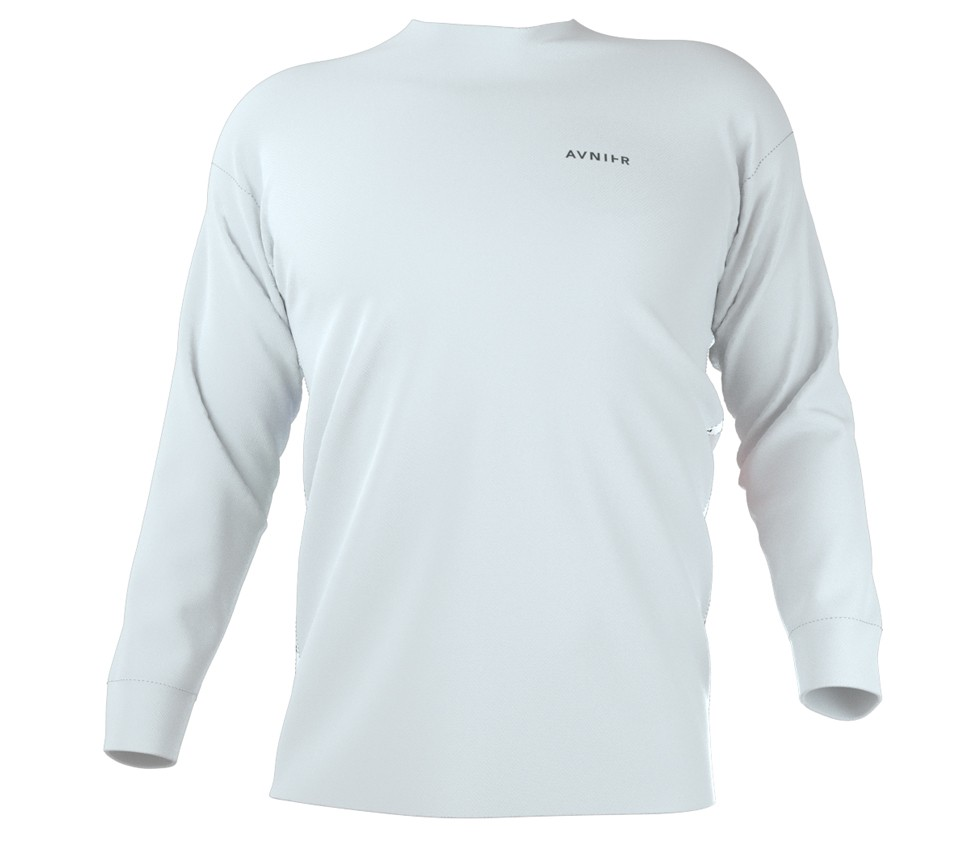 2020 WHITE LONG SLEEVE