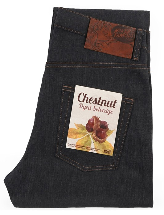 EASY GUY CHESTNUT DYED SELV