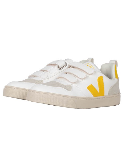 SMALL V-10 VELCRO CWL WHITE TONIC JUNIOR