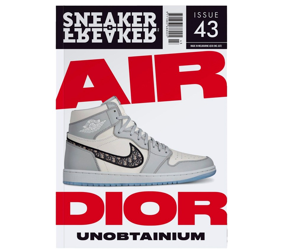SNEAKER FREAKER MAGAZINE 43 : AIR DIOR