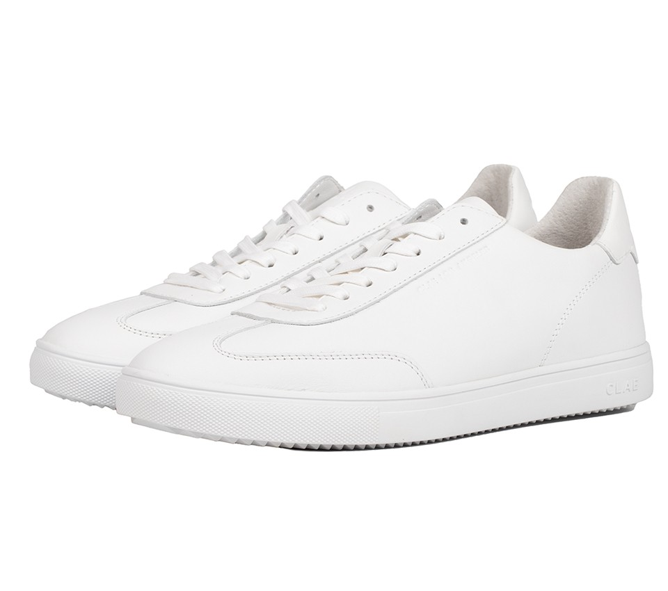 DEANE TRIPLE WHITE LEATHER