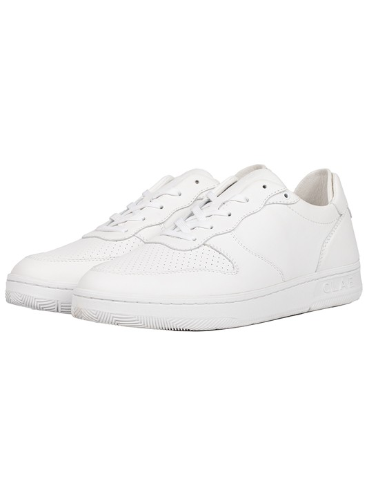 MALONE TRIPLE WHITE LEATHER