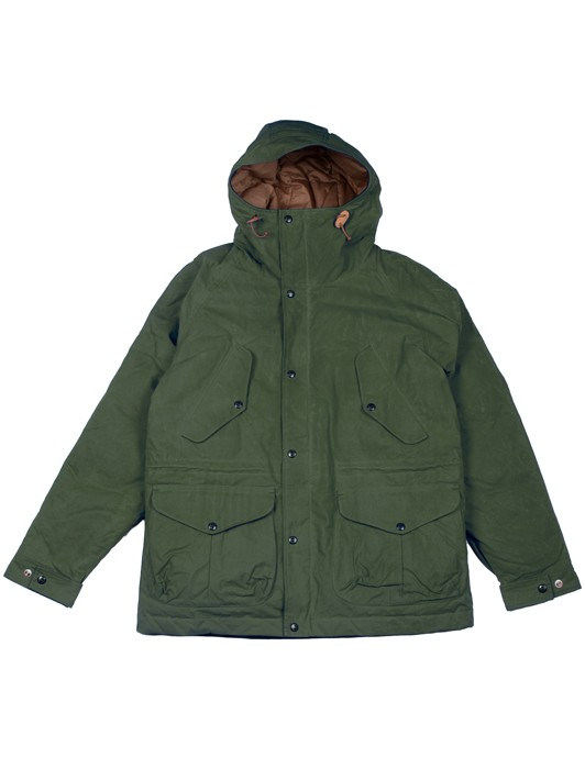 FISHERMAN PARKA GOOSE DOWN
