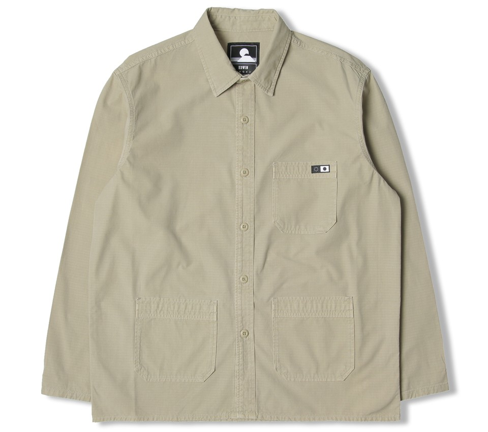 MAJOR SHIRT LS COTTON RIPSTOP